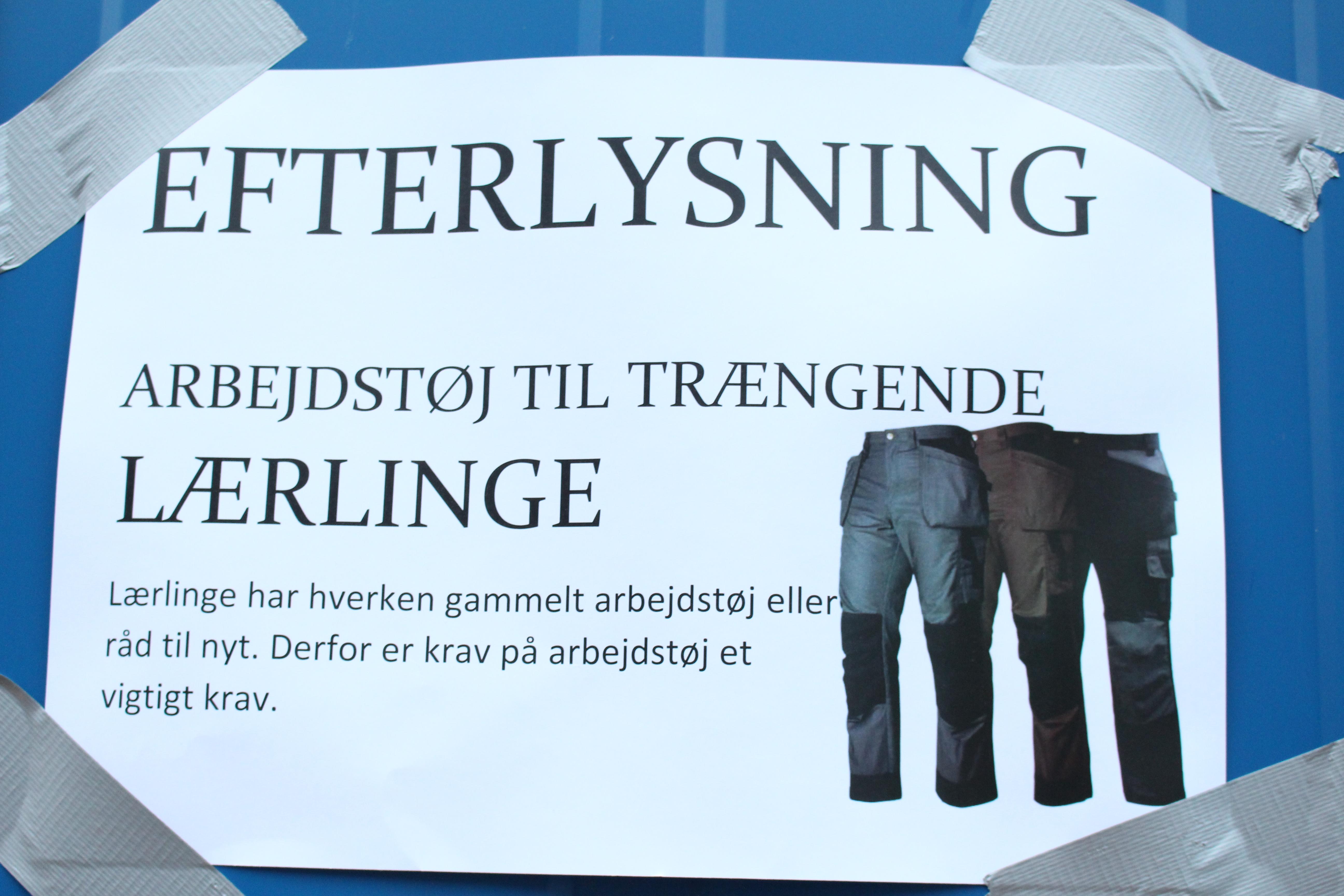 Faglig aktion med Dansk EL Forbunds Ungdom